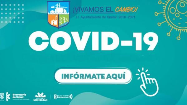 CASOS DE COVID-19 MICHOACAN