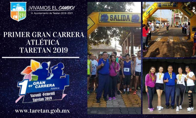 Primer Gran Carrera Atlética  Taretan 2019