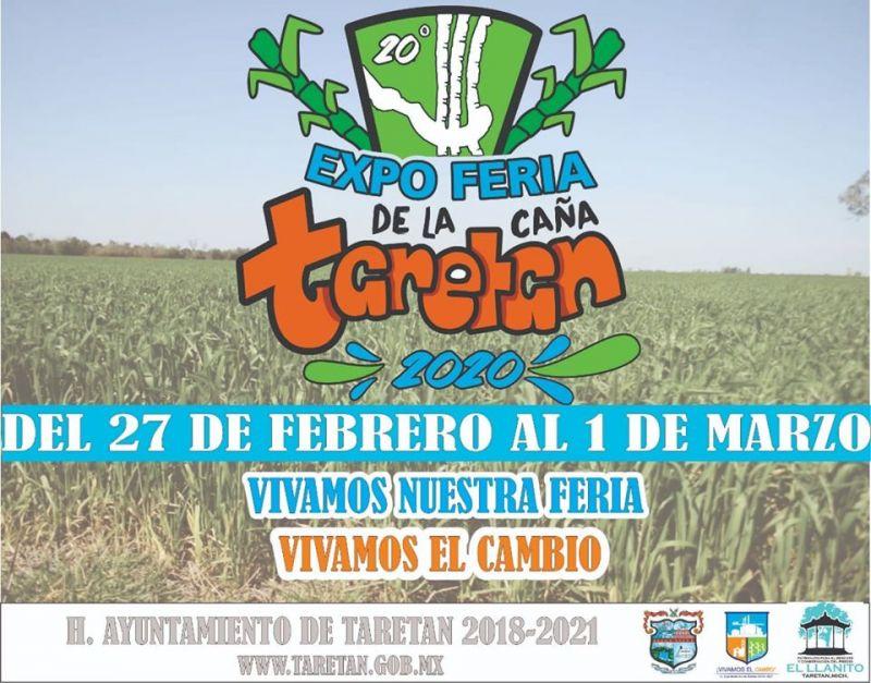 Expo Feria de la Caña Taretan 2020